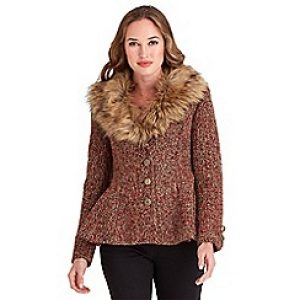 Joe Browns Fabulously Fur Collar Jacket
