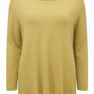 Adini Burford  Knit Top Mustard