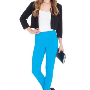Bengaline Stretch Trousers Turquoise