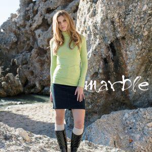 Marble Fashion Polo Neck style 5135 Col 175