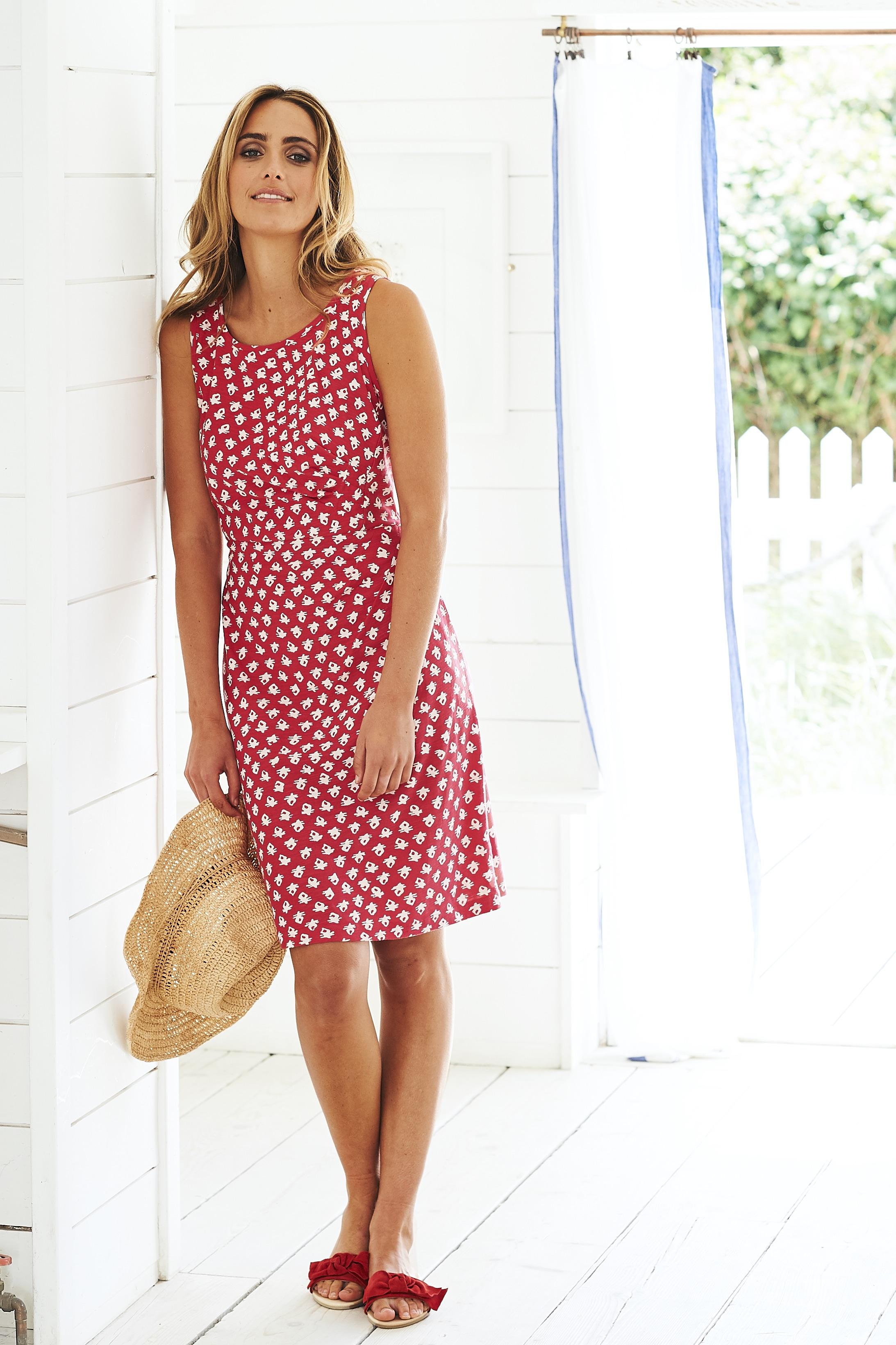 6ef606b03e7 Adini Ooty Dress Salsa Red - La Bella Boutique